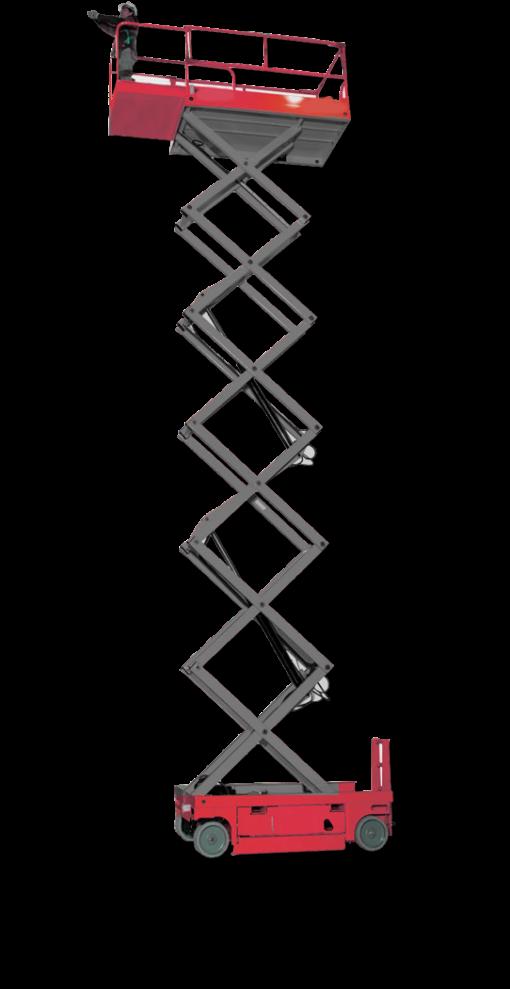 plataforma elevatória tesoura usada