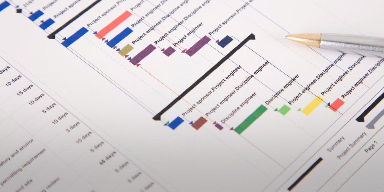 Como montar o cronograma da obra?